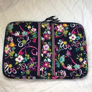 Vera Bradley Ribbons Pattern Laptop Case